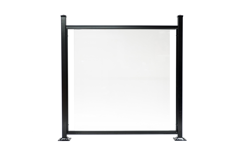 cl ture de verre 6 mm carla cl tures et rampes db. Black Bedroom Furniture Sets. Home Design Ideas